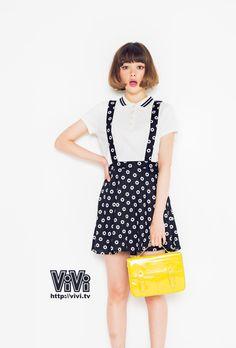 ViVi2014年5月号スマホ壁紙(玉城ティナ)| NET ViVi