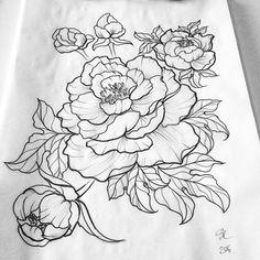 Image result for flower outlines
