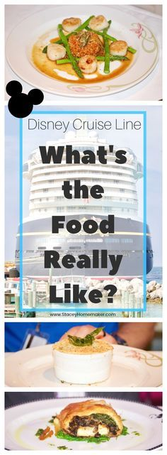 We visited all of the Disney cruise restaurants and quick service spots on our Disney Fantasy Cruise. Want to know what the food is really like on a Disney cruise? I'm sharing all of the menus, food pictures, videos, and reviews to help you decide where and what to eat on your Disney cruise.