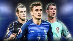 Bale, Griezmann or Ronaldo: Who should win 2015/16 UEFA Best Player in Europe award?  Leave a comment. #garethbale #cristianoronaldo #antoinegriezmann
