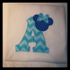 Minnie initial applique shirt custom details choose colors, initial, for birthday or Disney trip boy girl