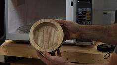 Watch and find out how drying wood in a microwave works and see why it is helpful.