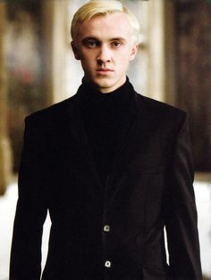 Yes, yes I know he's bad and serves Lord Voldemort, but I still would like Draco Malfoy as my crush in Hogwarts!