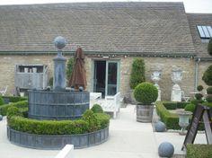 Daylesford Organic Farm courtyard