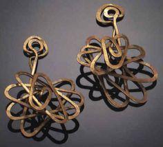 Earrings | Alexander Calder c.1940