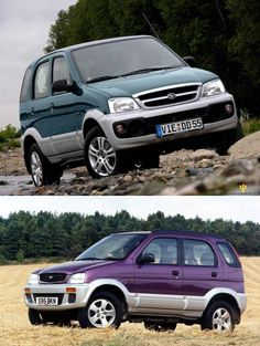 (Purple or Green) '97 Daihatsu Terios