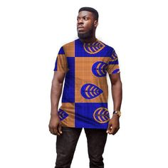 Conventional Dashiki Man's Dress Fashion Print Short Sleeve Tops Men T shirt Africa Style Design Festive Costume African Clothes 1 Man Dressing Style, Fashion Prints, Fashion Design, African Men, Dashiki, Africa Fashion, Printed Shorts, Traditional Outfits, Africa Style