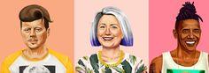 WTF: Hipster Politician Prints by Amit Shimoni