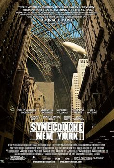 Synecdoche New York. Mind blowing film which I think of very often.