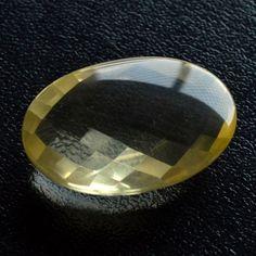 Natural Lemon Quartz Faceted Gemstone,Genuine Lemon Quartz Jewelry Stone#283
