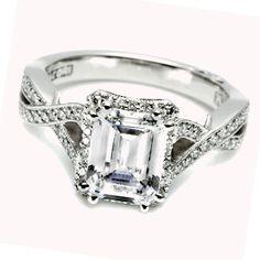 emerald cut diamond engagement rings - Google Search
