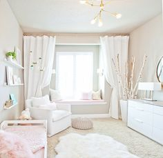 TodayI get to show the room my daughter and I have been working on. I mentioned on Instagram that I get so busy working on other nurseries and kids rooms and h
