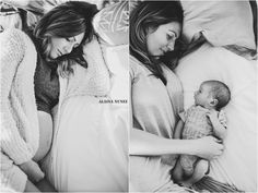 Before and After, In Home maternity, In home newborn, Lifestyle Photography, black and white photography. Image by Alaina Nunez in Southern California