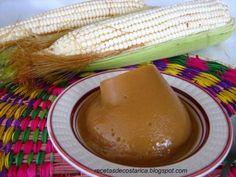 Cocina Costarricense: mazamorra