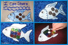 Rainbow Fish: Kids Craft Activity to Teach Sharing and Giving