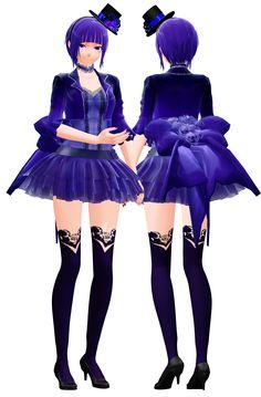 MMD Model DL: Lobelia (v.1) by LilithZatsune.deviantart.com on @deviantART