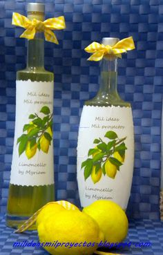 Mil ideas mil proyectos: LIMONCELLO BY MYRIAM