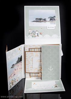 Mini Albums Scrapbook, Photo Souvenir, Lepage, Minis, Inspiration, Club, Christmas Scrapbook, Kraft Paper, Sticker
