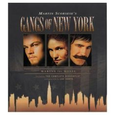 """Martin Scorsese GANGS OF NEW YORK: MAKING THE MOVIE. The """"Dead Rabbits"""" and the """"Native Americans"""" are the 2 gangs at the heart of the film. Amsterdam Vallon (Leonardo DiCaprio), the son of the Rabbits' murdered leader, vows vengeance on the man who killed him, Bill """"The Butcher"""" Poole (Daniel Day-Lewis). Production started in August 2000 on a specially constructed site in Italy that recreates mid 19th-century New York."""