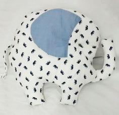 Almofada Elefante 100% algodão, antialérgica.