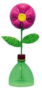 Fleur pour maman à partir d'une bouteille en plastique