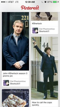 NO, Sherlock...staaahp...we do not shoot friends! (It's uncanny how these things line up sometimes)