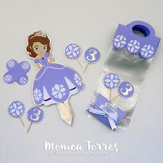 Kit para fiestas Princesa Sofia