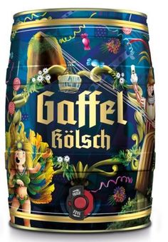 Gaffel Kölsch by Anna Anjos, via Behance PD Cool Packaging, Beverage Packaging, Bottle Packaging, Packaging Design, Beer Keg, Wine And Beer, German Beer, Best Beer, C'est Bon