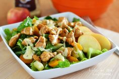 This delicious Oriental Chicken Salad was one of the first recipes I posted on my blog, almost 3 years ago. I don't think it got the recognition it deserved. It kind of just ...