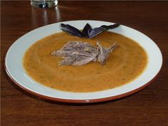 Суп-пюре овощной с говядиной