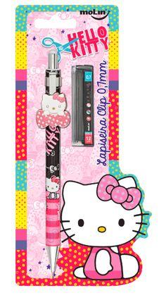 Lapiseira Clip Especial Hello Kitty 0,7mm + Grafite