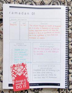 Ramadan Planner by The Organized Muslim