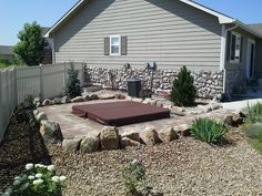 Another awesome inground hot tub done in conjunction with our friends at C&K Consulting.  www.coloradocustomspas.com