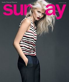 Abbey Lee Kershaw - Love the pale hair and skin; the opposite of tanorexic!