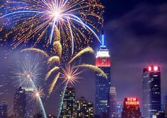 4th of July Fireworks in New York...watch them from a boat or a rooftop party!