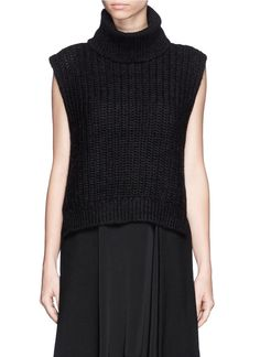 4a82a083ad3468 black turtleneck Sleeveless Sweaters, Wardrobe Basics, Winter Style, Black  Turtleneck, 3.1 Phillip