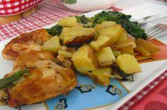 IO-HEALTHY KITCHEN: Coxas de frango no forno!!!