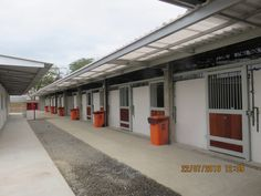 Olympic stables at Rio before the horses arrive