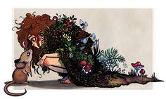 forest child by Fukari on @DeviantArt