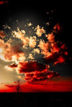 Burning Sky by BarbarShadow