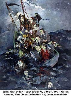 Image result for John Alexander, Ship of Fools