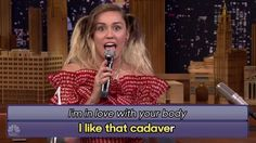 Miley Cyrus Sings Hilarious Google-Translated Songs & Explains Why She Quit Smoking Weed