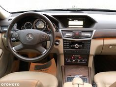Używane Mercedes-Benz Klasa E - 86 000 PLN, 144 300 km, 2011 - otomoto.pl
