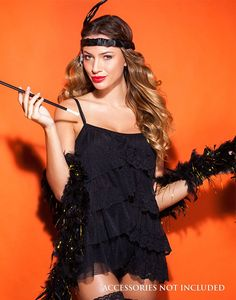 Looking flirty and fun in our Flapper Girl costume. #halloween ...