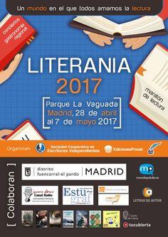Festival #Literania 2017 nace para promover la lectura y apoyar a los escritores emergentes.