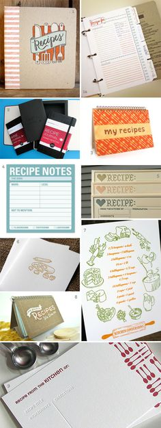 i want that recipe book!! (top left)