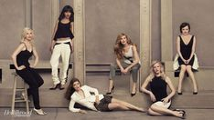 THR Emmy Roundtable: Behind-the-Scenes Photos of TV's Hottest Drama Actresses