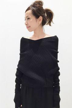 L'EDITION OFF Shorder knit◆
