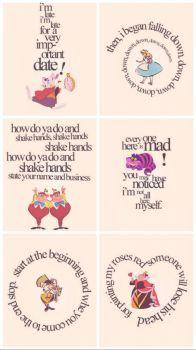 Wonderland Quotes (45 pieces)