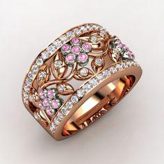 Daisy Chain Ring